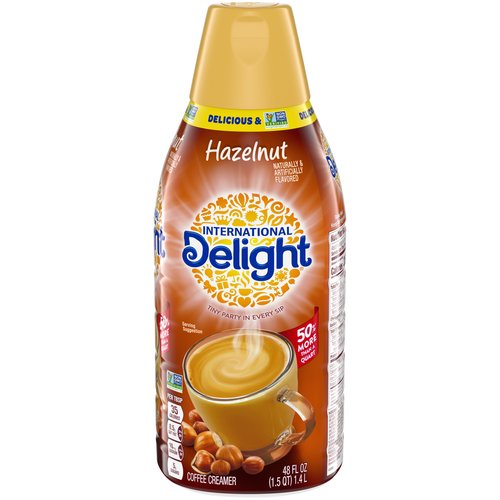 Creamer Nation Unite!; Tiny Party in Every Sip; Proud Member of The Danone Family; 50% More Than a Quart