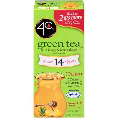 Antioxidant, with honey & natural lemon flavor. Sugar free with Splenda Brand. 7 tubes.