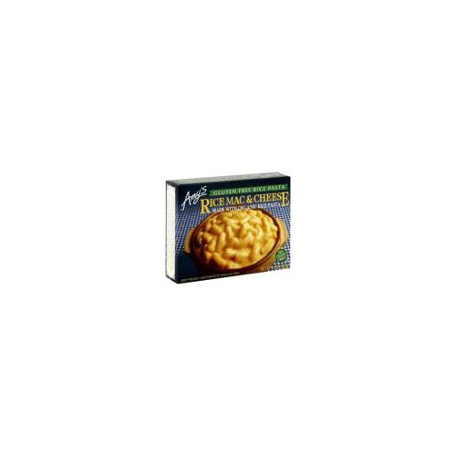 Single servng vegetarian gluten-free frozen entree. Gluten-free elbow macaroni rice noodles covered in a smooth Cheddar cheese sauce. Soy free. Tree nut free. Gluten free. Kosher. Non-GMO.