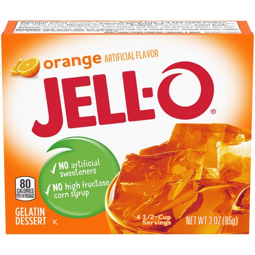 Makes a delicious dessert. Fat free, contains no artificial sweeteners or high fructose corn syrup. Contains 80 calories per serving; each box makes 4 servings. Perfect for those keeping Kosher.
