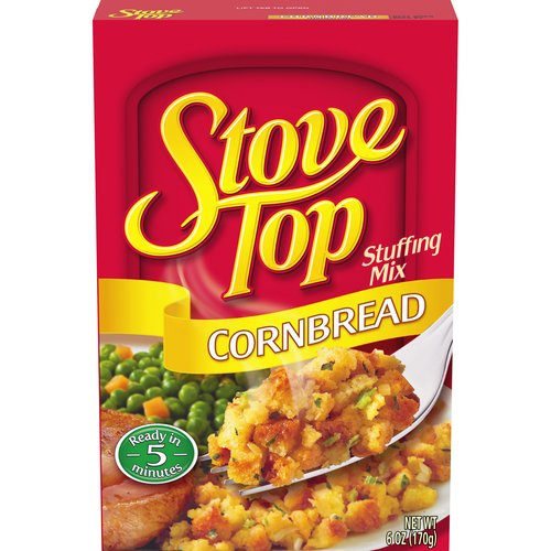 Tastes like it's made from cornbread you just baked. Ready in just 5 minutes. 110 calories per serving; 6 servings per package.