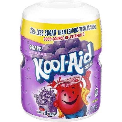 Artificial flavor. Makes 8 quarts. Provides Vitamin C. Caffeine free.