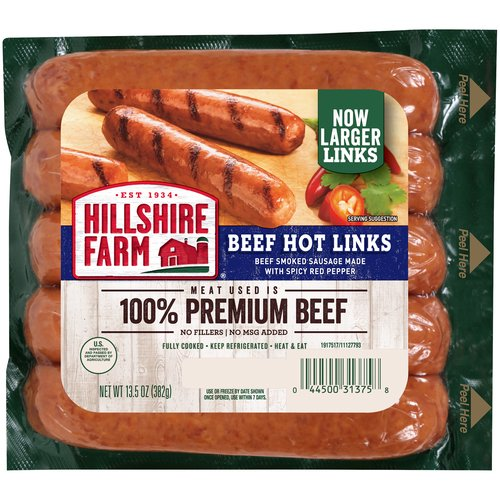 Simple, delicious and ready in minutes—these hot sausage links bring a farmhouse quality to backyard barbecues or weekday dinners.