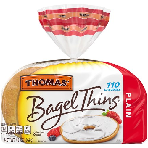 Light texture and delicious taste in a 110 calorie bagel.