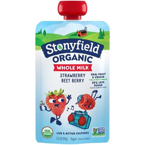 YoTot Whole Milk Strawberry-Beet Berry