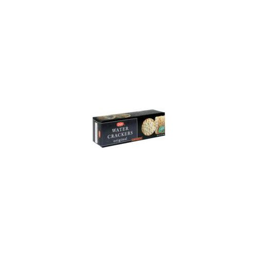 Elegantly thin and crisp water crackers. Serve bare or with flavorful toppings. 0 g Trans fat. Imported.
