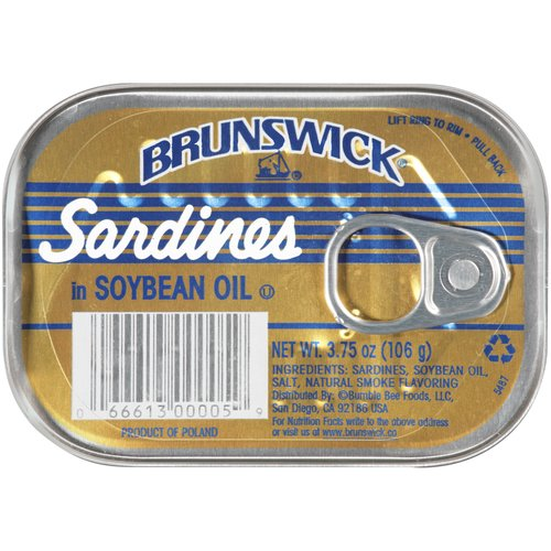 Our wild caught sardines in soy oil are the perfect accompaniment to any dish and the soy oil brings out the best of the sardine's flavor.