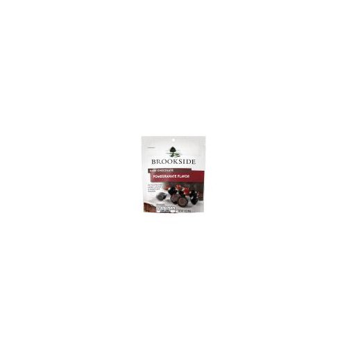 Brookside Dark Chocolate Pomegranate Flavor contains fruit-flavored centers bursting from smooth dark chocolate. Perfect for everyday indulgences and special occasions. Savor the sophistication.