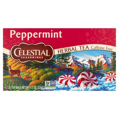 Caffeine free. 20 count tea bags. 1.1 oz.
