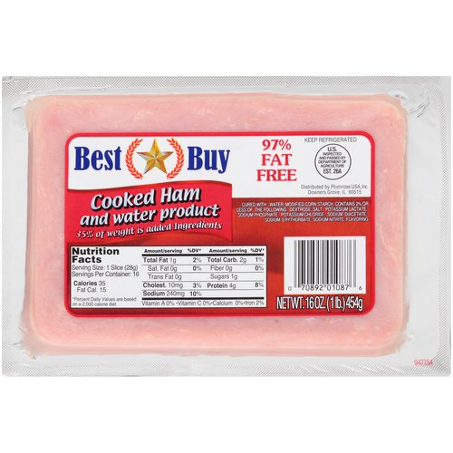 97% Fat Free, 16 Slices