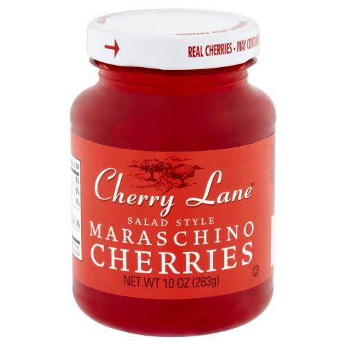 Cherry Lane Salad Style Maraschino Cherries, 10 oz
