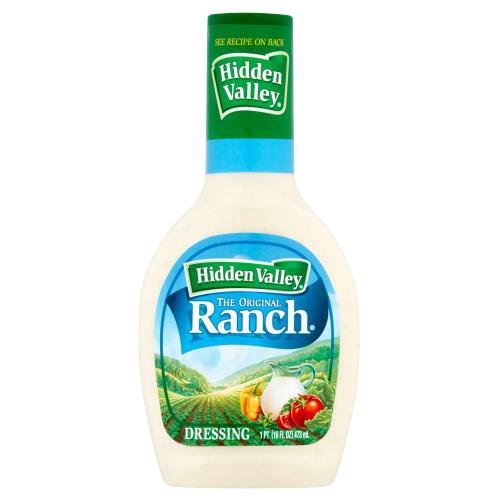 Gluten Free - Toss Hidden Valley Original Ranch Dressing with greens, pasta and more for an easy, delicious side dish or meal.