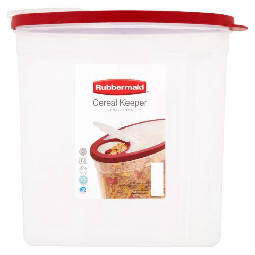 Cereal Keeper 1.5 Gallon.5.68 L.BPA free.