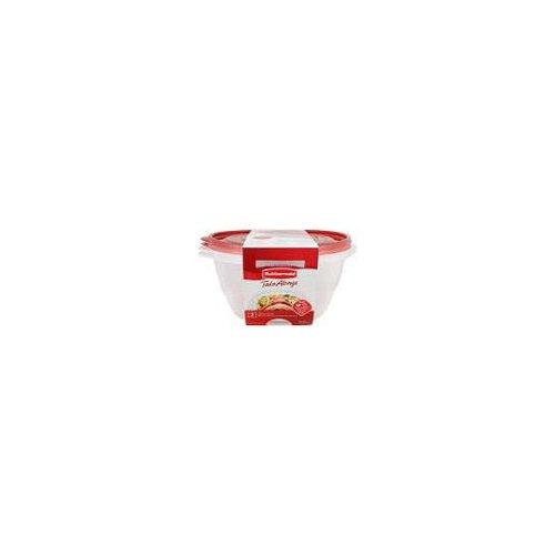 13 Cup. Quik clik seal. 2 serving bowls, containers + lids.