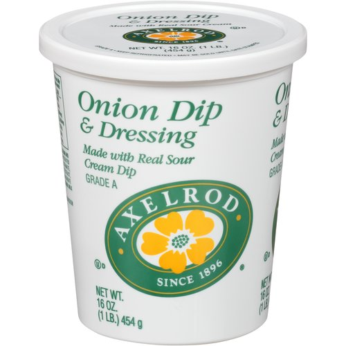 Made with real sour cream dip.