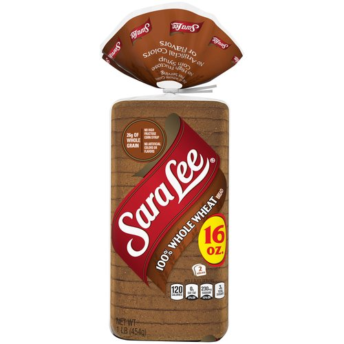 Baked without high fructose corn syrup, artificial colors or flavors, our 100% Whole Wheat Bread is made with whole grains for a wholesome taste you and your family will love.