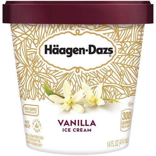 Premium ice cream made with Madagascar vanilla.