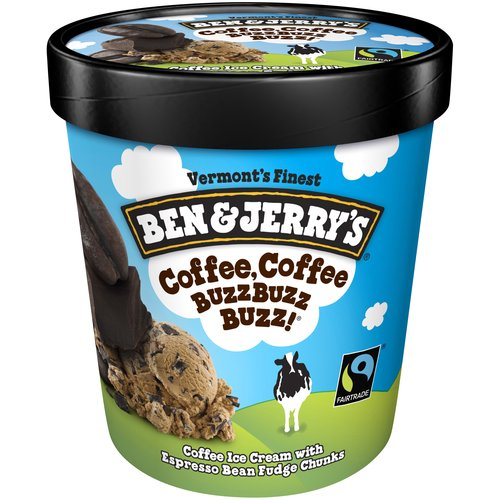 Coffee ice cream with espresso bean fudge chunks. With its espresso-on-coffee verve, this flavor will get you amped for just about anything!
