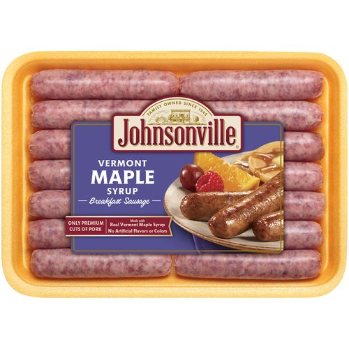 Only premium cuts of pork. Made with real vermont maple syrup. No artificial flavors or colors.12 oz tray.