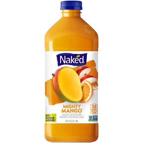 100% Juice. 5-Juice blend with added vitamins & minerals. No sugar added. This product has been gently pasteurized.