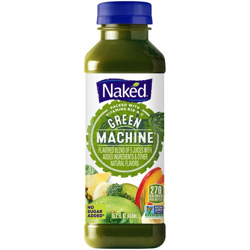 All natural. 100% Juice smoothie with added ingredients. A pound of fruit in every bottle. No added sugar, no preservatives, no inhibitions. This product has been gently pasteurized.