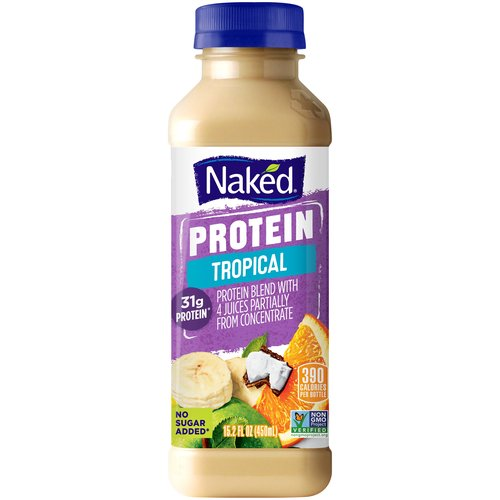 All natural. With added protein & vitamin C. No added sugar, no preservatives, no inhibitions. 93% Juice. This product has been gently pasteurized.