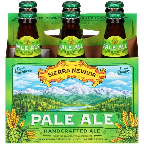 12 fl oz each. Bold flavors and piney-citrus aromas of whole-cone Cascade hops.