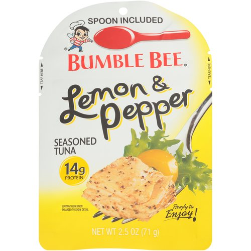 Looking to make meals more interesting? Try our Bumble Bee flavored pouches to add a kick to any meal, from paninis and wraps to stuffed peppers and lettuce cups.