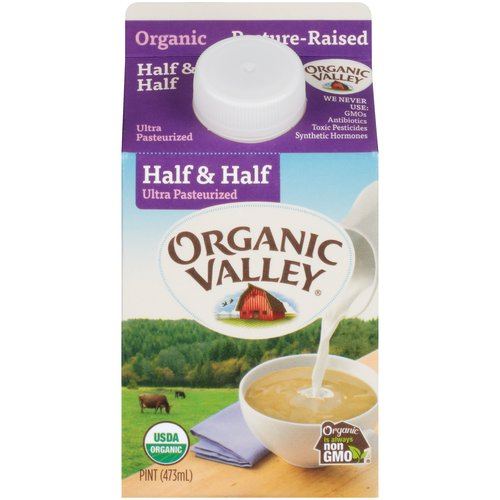 Ultra Pasteurized; Kosher Dairy; USDA Organic
