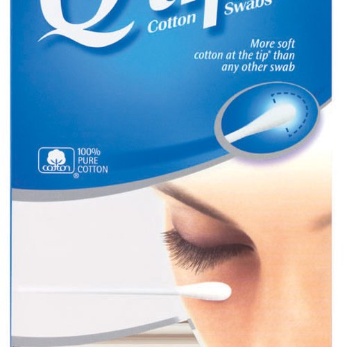 Q-tips cotton swabs are the Ultimate Home and Beauty Tool. With the most soft cotton at the tip from the end of the stick to the top of the swab and a gently flexible stick.