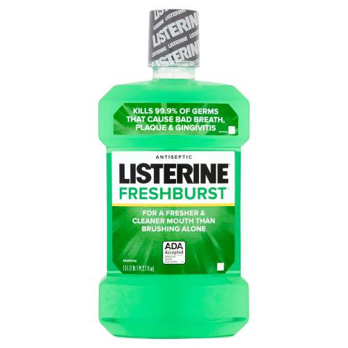 Get 24-hour protection against the germs that cause plaque and gingivitis. This refreshing mouthwash gives you a deeper clean than brushing alone for fresh breath and a healthier mouth.