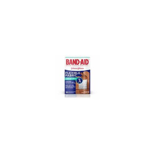 Band-Aid Brand Flexible Fabric Adhesive Bandages are made with Memory Weave fabric to stay in place and cover minor scrapes and cuts.