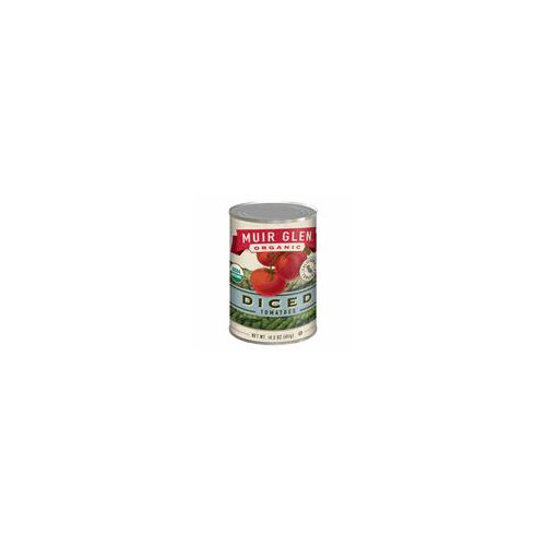 Juicy tomatoes are harvested at peak flavor, peeled, diced and seasoned lightly with a dash of sea salt. Gluten Free; Cans made with Non-BPA Lining; Non-GMO; Kosher; USDA Organic.