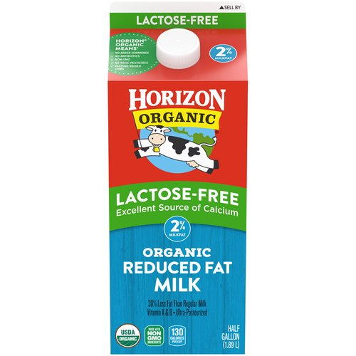 Grade A. Treat your tummy right. Our lactose-free organic milk is easy to digest for people with dairy lactose intolerance.