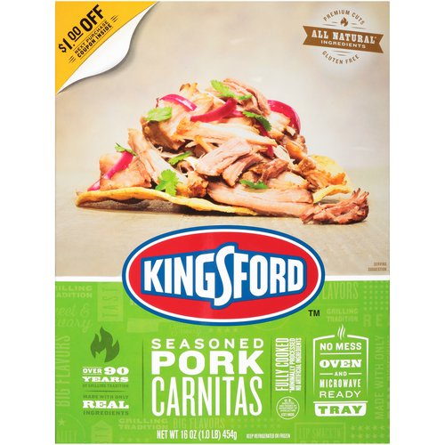 Premium Cuts; Naturally Smoked & Seasoned; No Mess Oven and Microwave Ready Tray; Convenient Microwave & Oven Ready Tray; Over 90 Years of Grilling Tradition; The Fire Behind the Flavor