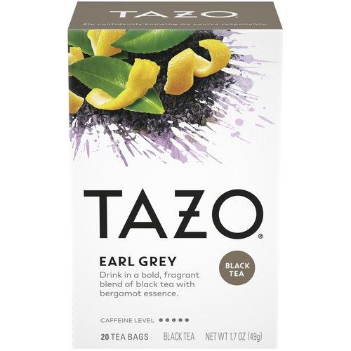 20 count box. Kosher. Black tea kissed with bergamot's lavender essence. 1.7 oz.