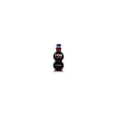 One 16-ounce POM Wonderful Pomegranate Blueberry Juice bottle.
