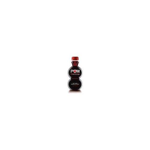 One 16-ounce POM Wonderful Pomegranate Cherry Juice bottle.