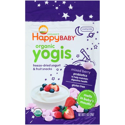 Freeze-Dried Yogurt & Fruit Snacks