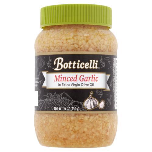 Botticelli Minced Garlic in Extra Virgin Olive Oil, 16 oz