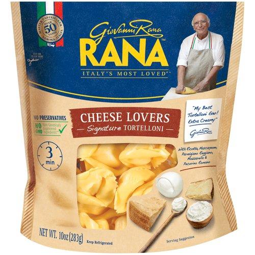 """""""My Best Tortelloni Ever! Extra Creamy!""""  Giovanni Rana; Master Pasta Maker Verona, Italia over 50 Years; 3 Min.; Giovanni Rana™ Italy's Most Loved® *"""