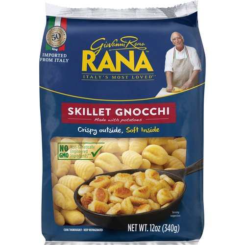 Imported from Italy. Crispy Outside, Soft Inside.