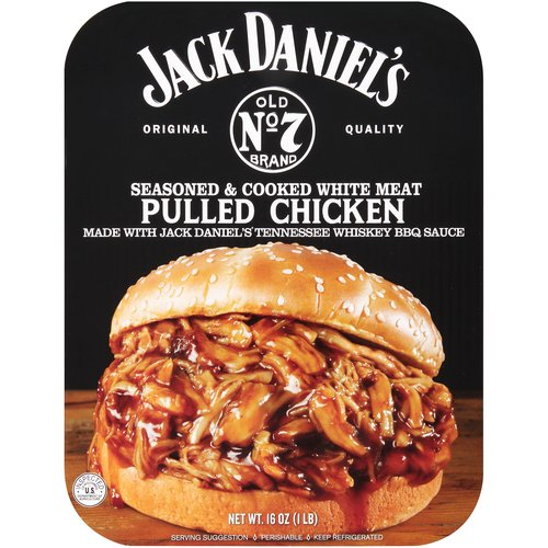 Glaze. Seasoned - cooked all white. Made with authentic Jack Daniel's Tennessee Whiskey. Fully cooked. Just heat & serve.