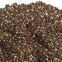 Chia Seeds - Organic Black, Bulk, 100 Gram