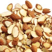 Trophy - Natural Almonds - Sliced, 100 Gram