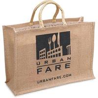 Urban Fare Urban Fare - Jute Fabric Bag - Large, 1 Each