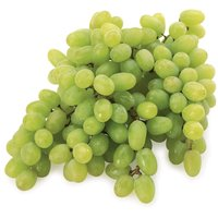 Average Standard Size of Grapes Bunch in Bag is Approx 1 KG.  One cup of green grapes contains 104 calories and 1.4 grams of fiber. Green grapes contain vitamins C and K. Vitamin C.