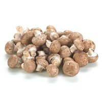 1/2 Bag of Mushrooms Approx. - .5kg /1 lb.  A moderately mature version of the white button mushroom with similar flavour. A browner color, firmer texture.