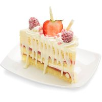 Bake Shop Bake Shop - Strawberry Whip Cream Slice, 1 Each