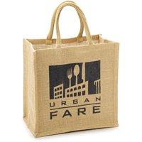 Urban Fare Urban Fare - Jute Fabric Bag - Small, 1 Each